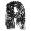 Dámska šatka so vzorom bata, čierna, 909-6626 - 13