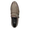 Dámske kožené poltopánky bata, hnedá, 516-2612 - 15