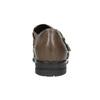 Dámske kožené poltopánky bata, hnedá, 516-2612 - 16