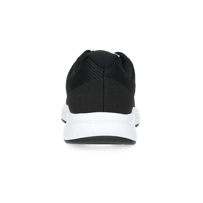 Čierne pánske tenisky so sieťovaným zvrškom nike, čierna, 809-6123 - 15