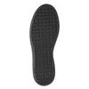 Čierne kožené tenisky na suchý zips bata, čierna, 526-6646 - 17