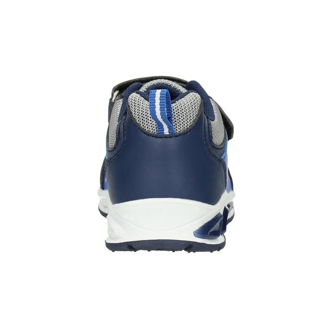 Chlapčenské tenisky s potlačou mini-b, modrá, 211-9183 - 17