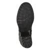 Dámska kožená členková obuv bata, šedá, 696-2627 - 19