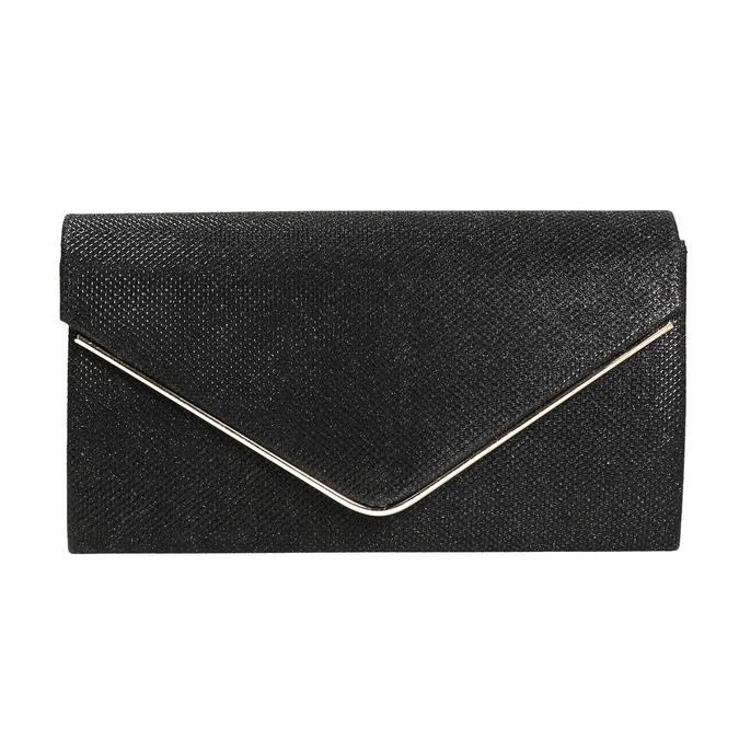 Čierna dámska listová kabelka bata, čierna, 969-6661 - 17