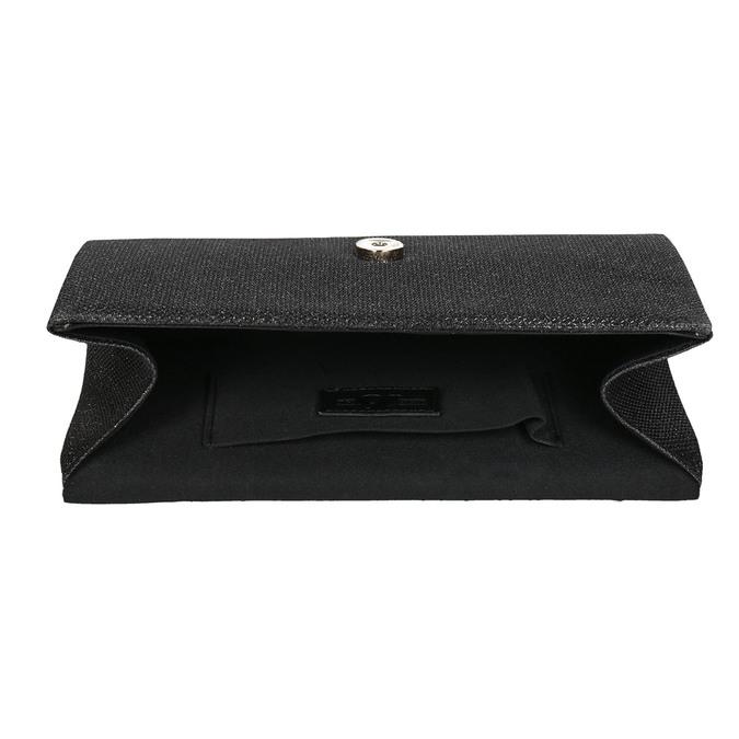 Čierna dámska listová kabelka bata, čierna, 969-6661 - 15