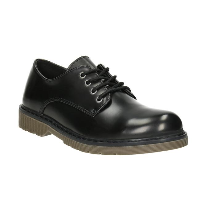 Detské čierne poltopánky mini-b, čierna, 311-6186 - 13