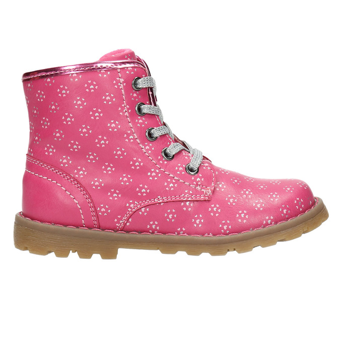 Ružová členková obuv bubblegummers, ružová, 221-5606 - 15