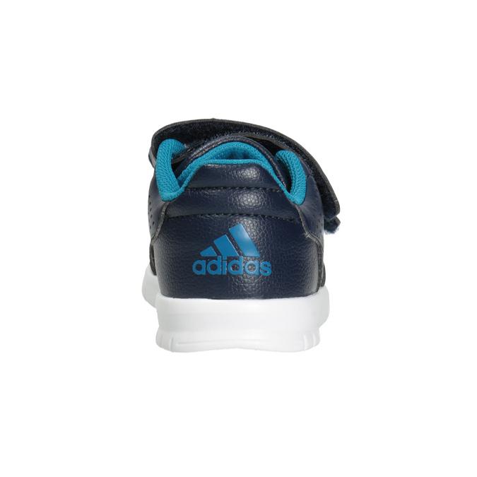 Detské tenisky na suchý zips adidas, modrá, 101-9161 - 16