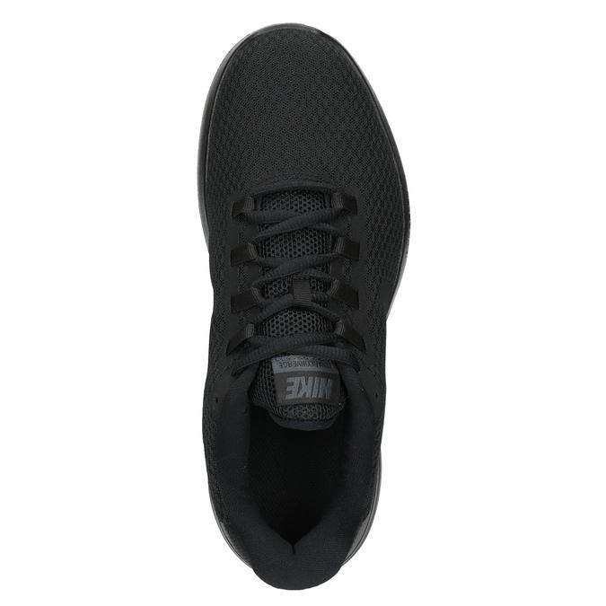 Pánske čierne tenisky nike, čierna, 809-6290 - 15