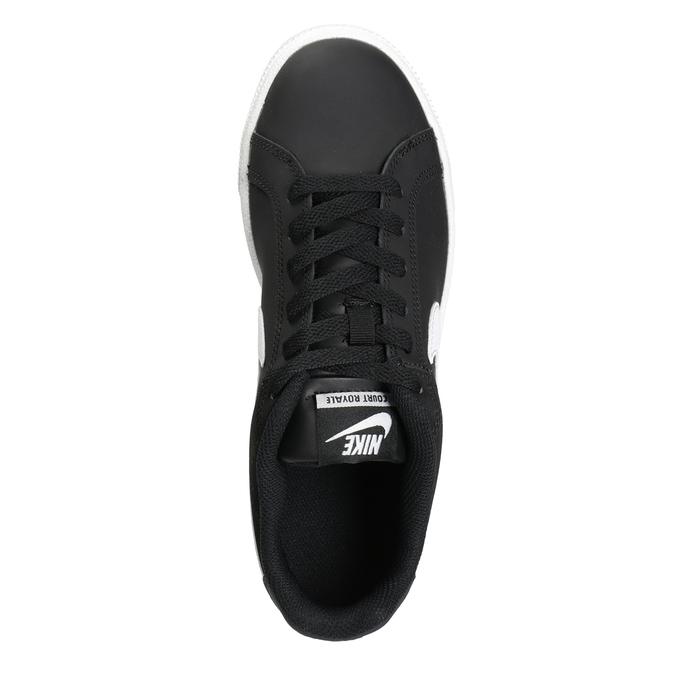 Dámske čierne tenisky nike, čierna, 501-6164 - 15