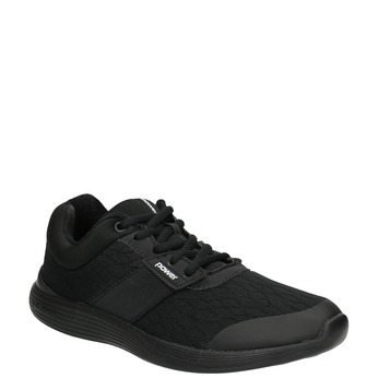 Dámske čierne tenisky power, čierna, 509-6203 - 13