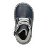Kožená detská obuv bubblegummers, modrá, 114-9610 - 26