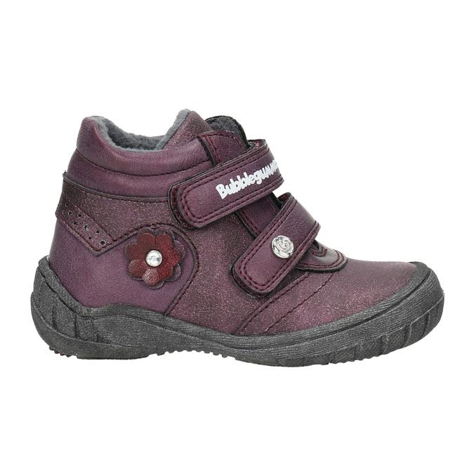 Členková dievčenská obuv bubblegummers, fialová, 121-9622 - 15
