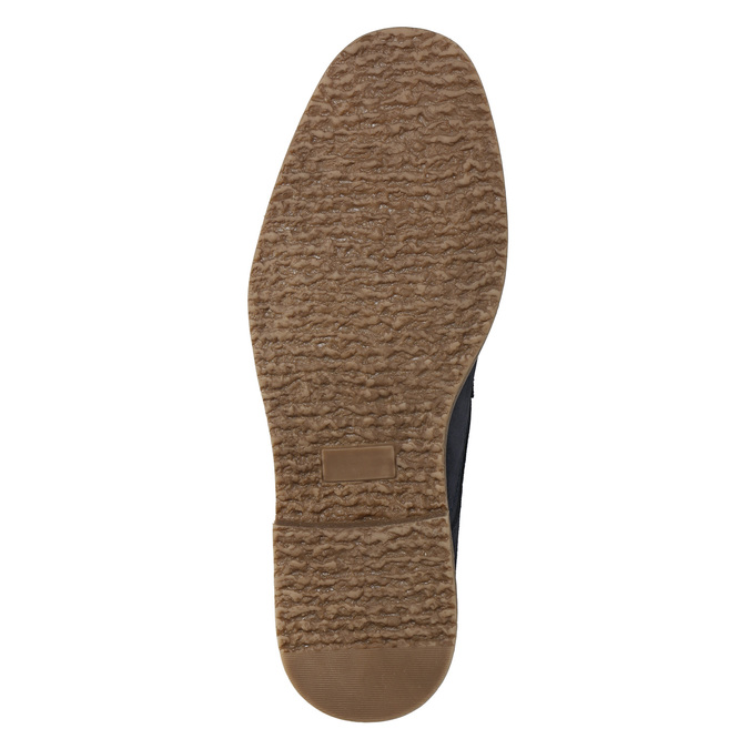 Modrá členková obuv bata, modrá, 823-9615 - 19