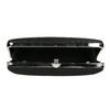 Pevná dámska listová kabelka bata, čierna, 969-6660 - 15
