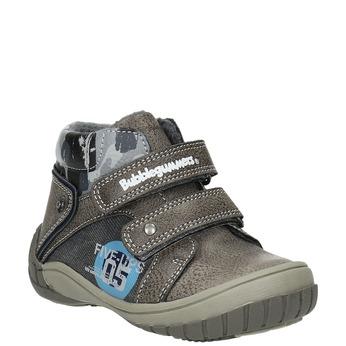 Chlapčenská členková obuv bubblegummers, šedá, 111-2618 - 13