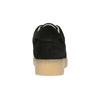 Kožené tenisky na výraznej flatforme bata, čierna, 523-6604 - 17