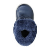 Dievčenská obuv s kožušinou bubblegummers, modrá, 121-9621 - 19