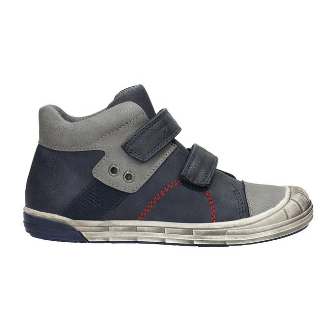 Detská členková obuv mini-b, modrá, 211-9624 - 15