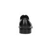 Čierne kožené Derby poltopánky bata, čierna, 824-6405 - 17