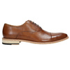 Celokožené hnedé Oxford poltopánky bata, hnedá, 826-3414 - 15