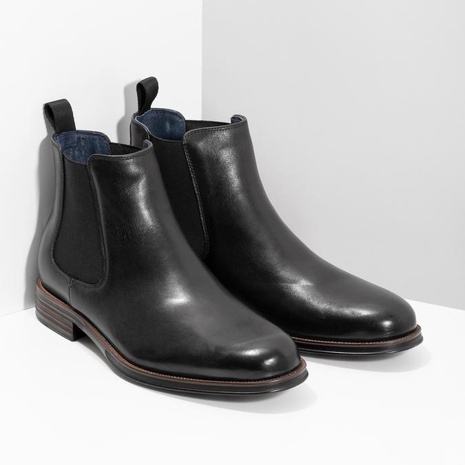 Kožené Chelsea Boots bata, čierna, 894-6400 - 26