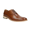 Celokožené hnedé Oxford poltopánky bata, hnedá, 826-3414 - 13