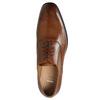Kožené Oxford poltopánky so zdobením bata, hnedá, 826-3690 - 26