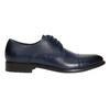 Pánske kožené Derby poltopánky bata, modrá, 826-9682 - 15