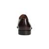 Pánske kožené Oxford poltopánky bata, červená, 826-5683 - 17