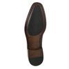 Pánske kožené Oxford poltopánky bata, červená, 826-5683 - 19