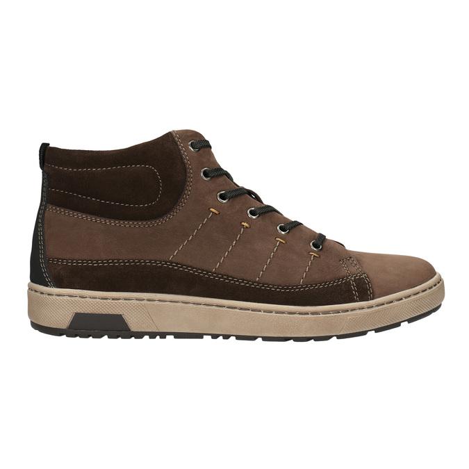Členkové pánske tenisky bata, hnedá, 846-4651 - 15