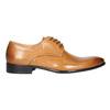 Kožené pánske Ombré poltopánky bata, hnedá, 824-3233 - 15