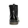 Detská členková obuv s kamienkami mini-b, čierna, 321-6611 - 17