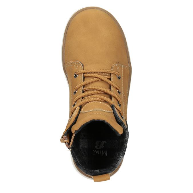 Detská členková obuv mini-b, hnedá, 291-8172 - 15