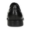 Kožené derby pánske čierne poltopánky fluchos, čierna, 824-6440 - 15