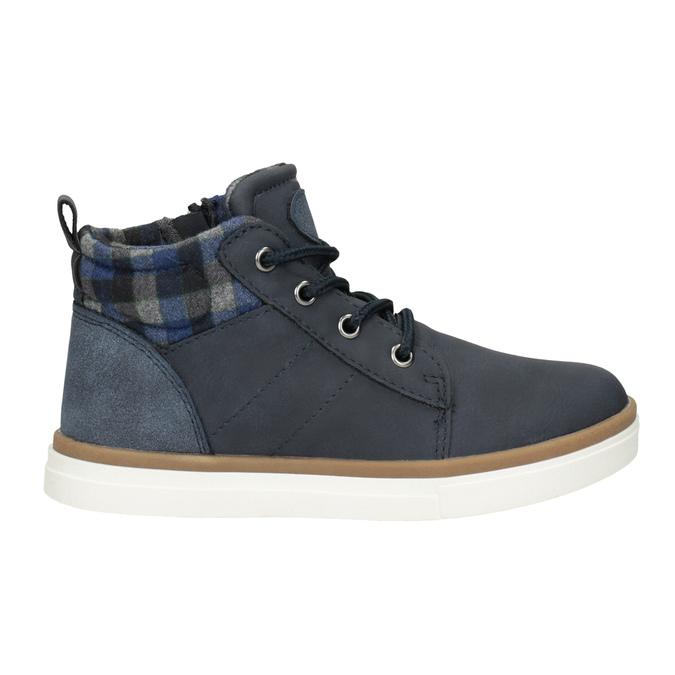 Detská členková obuv mini-b, modrá, 291-9172 - 26