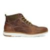 Hnedá kožená pánska členková obuv bata, hnedá, 846-3645 - 19