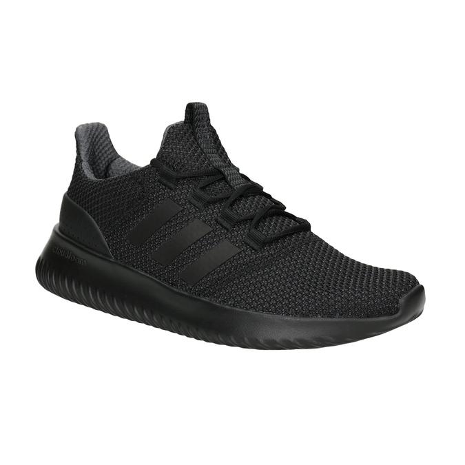 Pánske čierne tenisky adidas, čierna, 809-6204 - 13