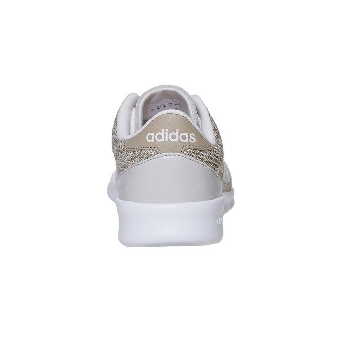 Dámske tenisky so vzorom adidas, béžová, 503-3111 - 17