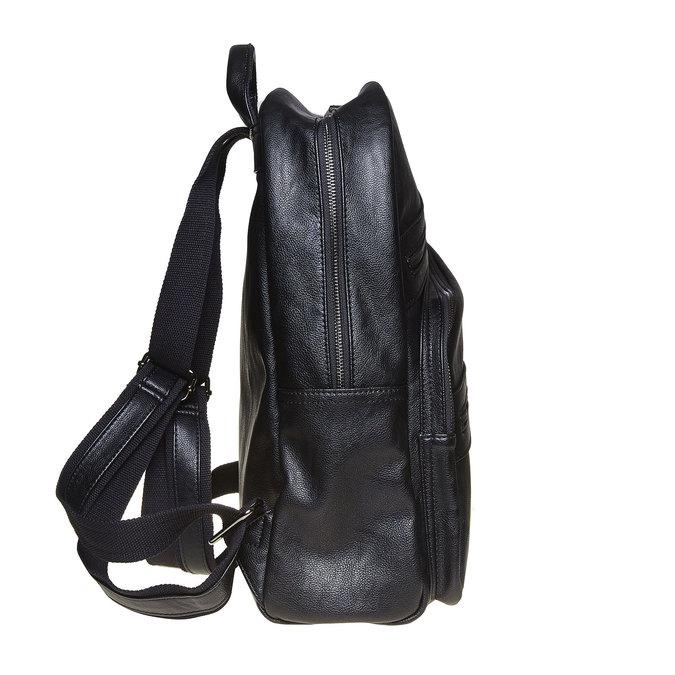 Batoh so zipsami bata, čierna, 961-6516 - 17