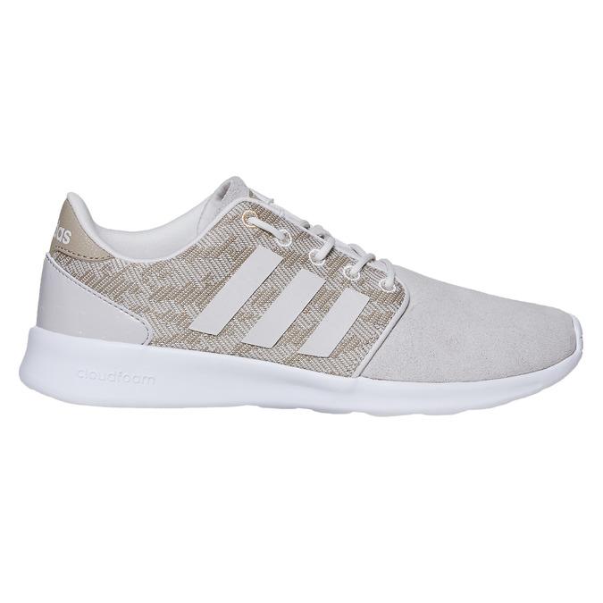 Dámske tenisky so vzorom adidas, béžová, 503-3111 - 15