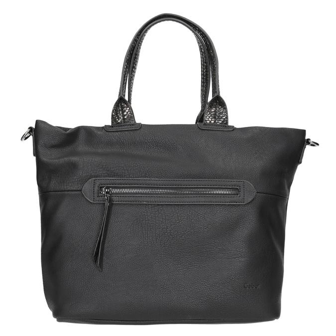 Dámska čierna kabelka gabor-bags, čierna, 961-6034 - 26