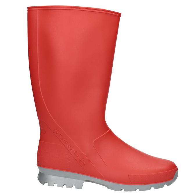 Dámske červené gumáky bata, červená, 592-5140 - 26