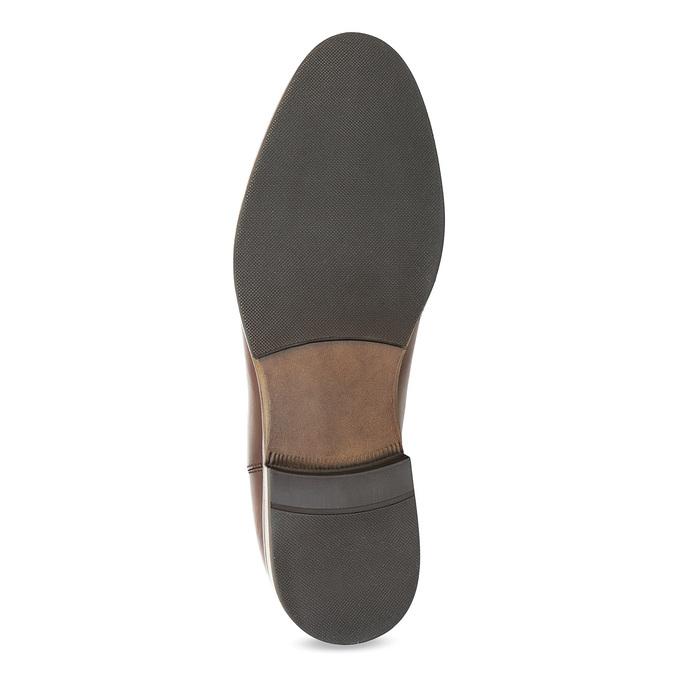 Kožená hnedá dámska Chelsea obuv bata, hnedá, 594-4636 - 18