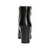 Kožené členkové čižmy bata, čierna, 694-6640 - 17