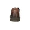 Hnedé kožené poltopánky bata, hnedá, 826-4918 - 15