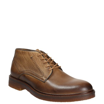 Pánske kožené Chukka Boots bata, hnedá, 826-2919 - 13