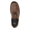 Hnedé kožené poltopánky bata, hnedá, 826-4918 - 17