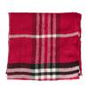 Dámsky šál so vzorom bata, červená, 909-5623 - 26